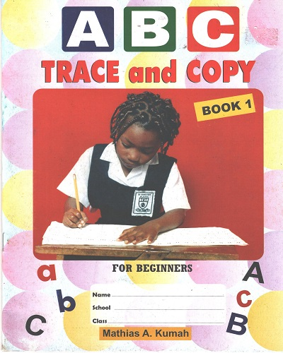 ABC Trace and Copy Book 1