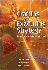 Crafting and Executive Strategy: The Quest for Competitive Advantage
