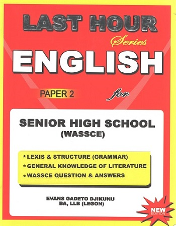 English Paper 2 For S.H.S (Last Hour Series)