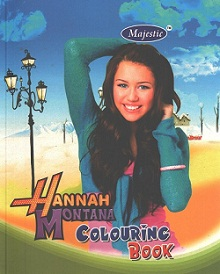 Hannah Montana Colouring Book