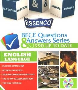 ENGLISH LANGUAGE - BECE QUES. AND ANS. SERIES(ESSENCO)