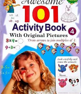 Awesome 101 Activity Book 4